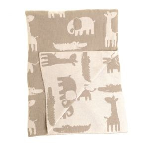 Zippy Grey Blanket
