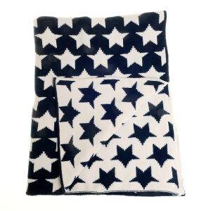 Zippy Navy Blanket